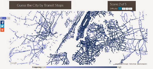 Maps mania the transit map quiz can you recognize a city purely from its transit network well you can now find out if you can on this fun google maps based quiz guess the city by transit gumiabroncs Choice Image