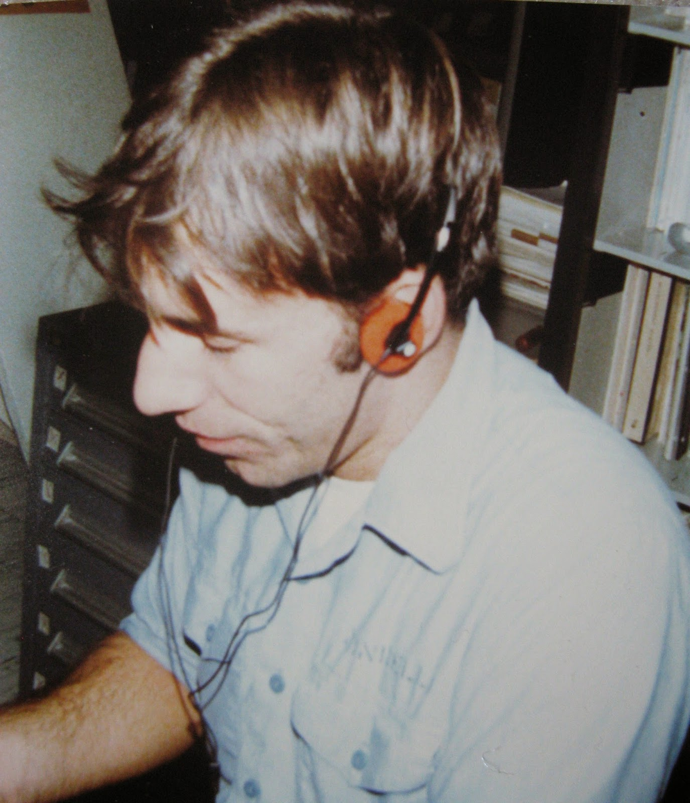 Tommy Mondello working in shop-670 the Calibration Lab USS Nimitz 1982/83