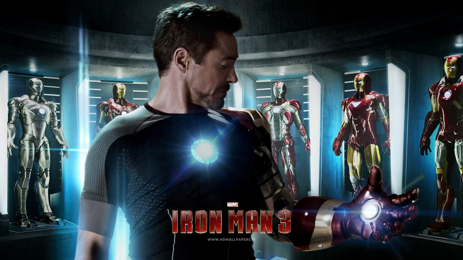 Iron Man 3 Movie HD Wallpaper