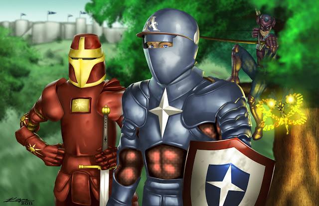 Medieval Avengers por miketheartist