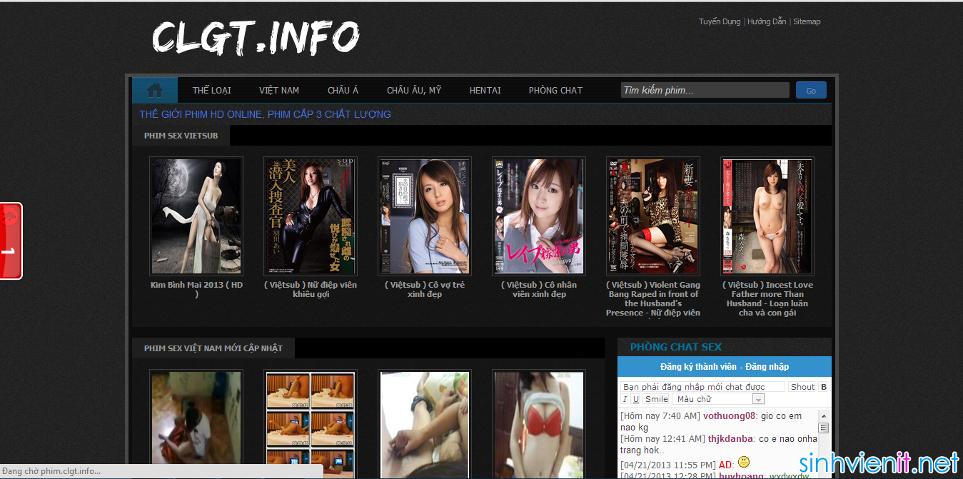 Share Template Phim cực đẹp cho blogspot - Blog SViệt