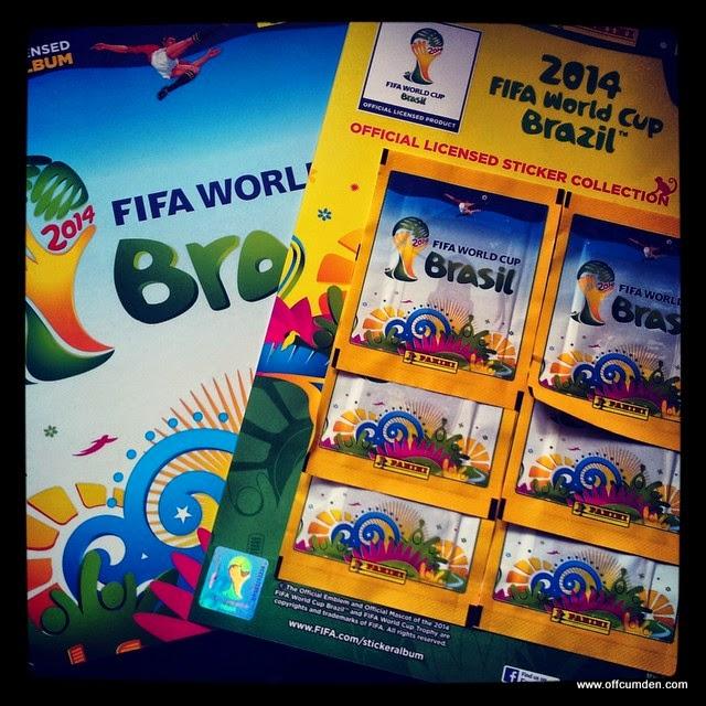 World Cup Panini Sticker Book