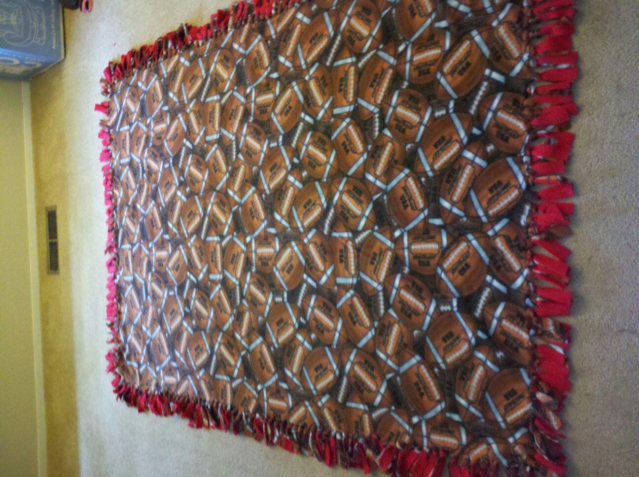 Kismet kreations fleece tie blanket ccuart Images