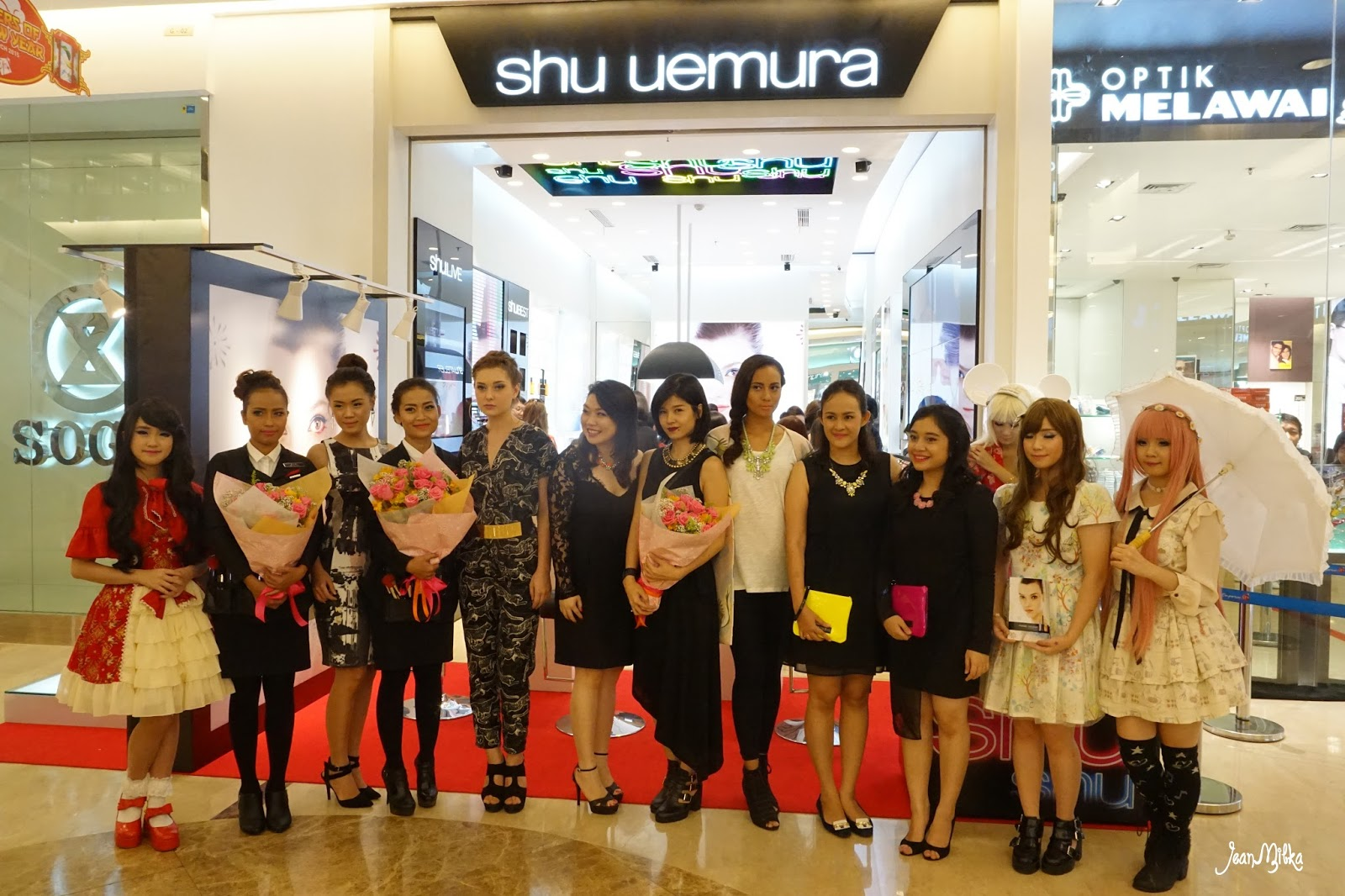 shu uemura, beauty event, new store, event report