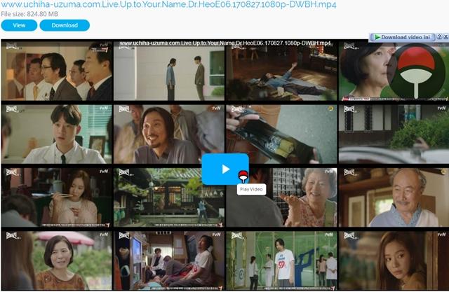 Screenshots Drama Korea Live Up to Your Name, Dr Heo aka Myeongbulheojeon aka Deserving of the Name aka 명불허전 (2017) Episode 06 1080p 720p 480p 360p Subtitle English Indonesia MP4