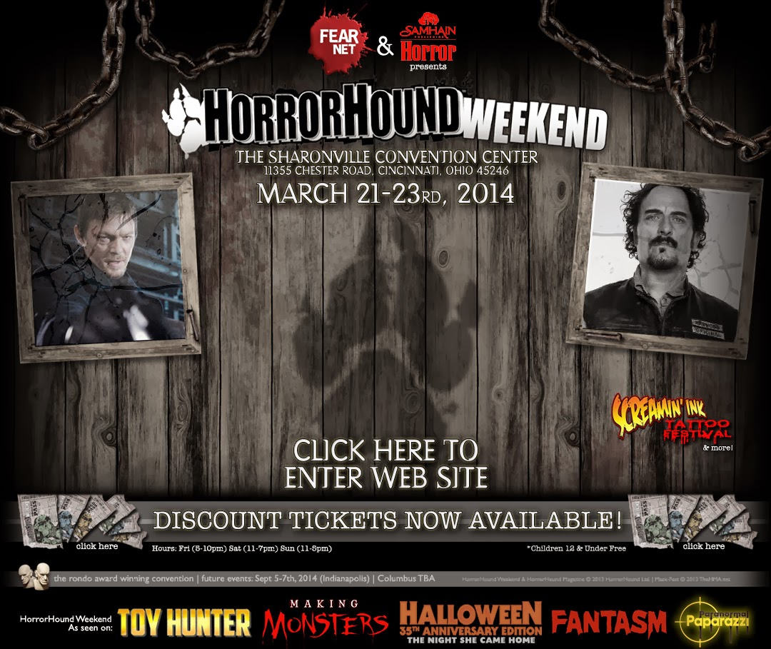 Horrorhound Weekend March 2014