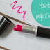 BEAUTY: HOW TO GET PERFECT BOLD LIPS