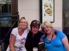Outside The Litton Tree, Blackpool, Joanna, Michelle and myself