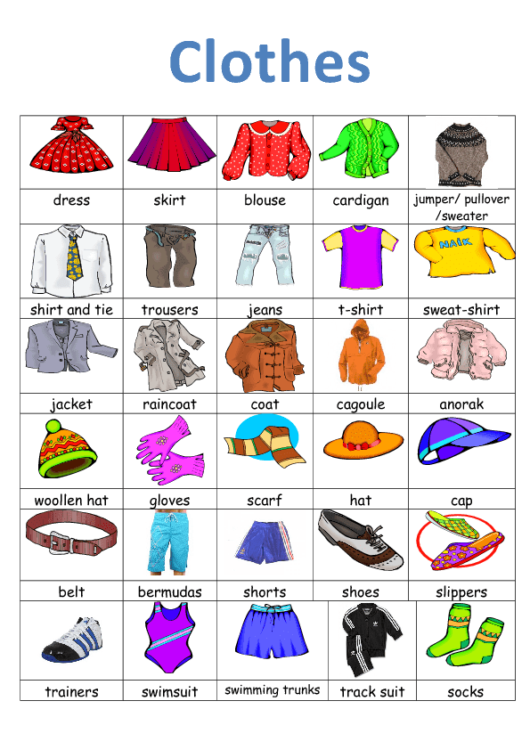 Change your clothes meaning in spanish