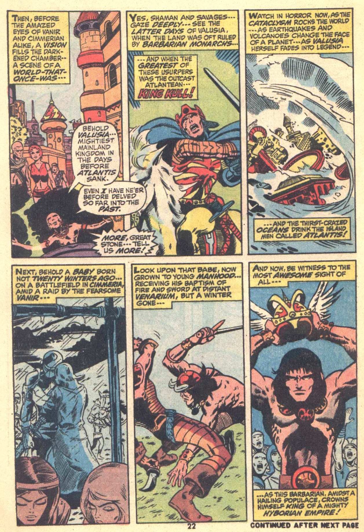 Conan the Barbarian (1970) Issue #22 #34 - English 16