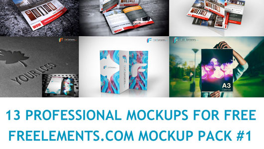 Free PSD Mock-Up Templates