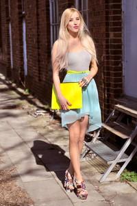mint dress blog fashion