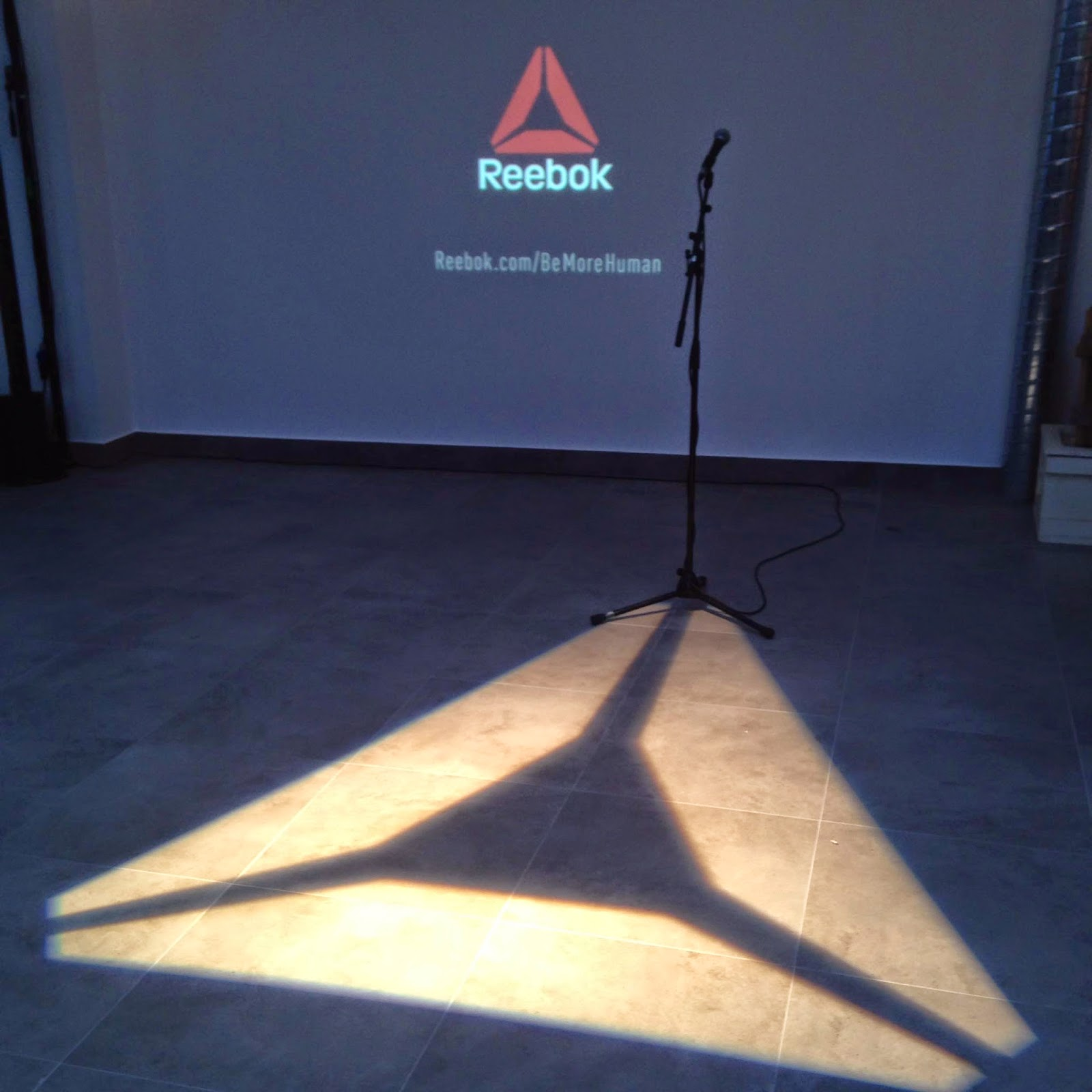 be more human reebok presentacion madrid