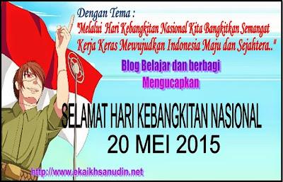 HARI KEBANGKITAN NASIONAL TAHUN 2015