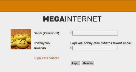 Cara Login ke Mega Internet Banking