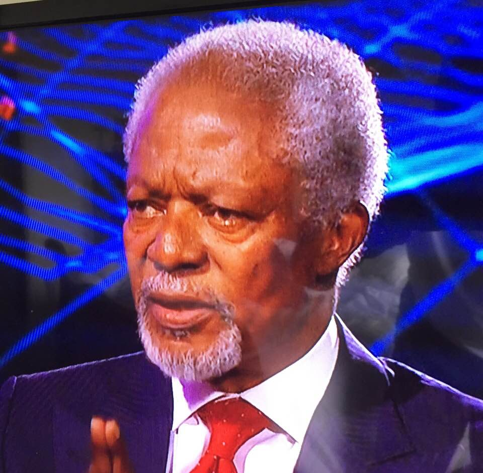 KOFI ANNAN TURNS 80: HURRAY