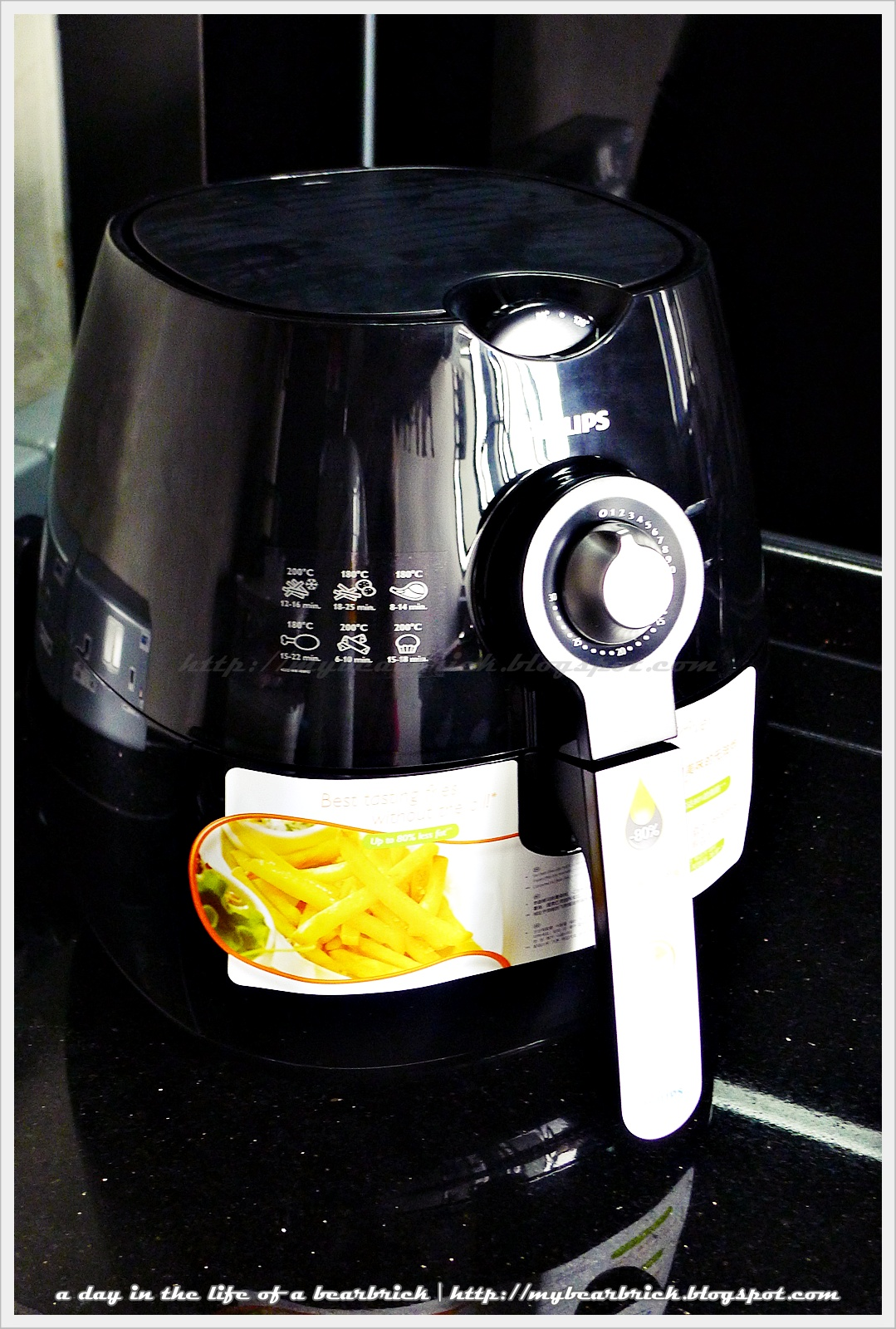 a day in the life of a be rbrick  philips air fryer