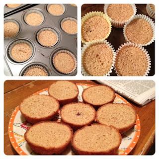 Blackberry Almond Cakes