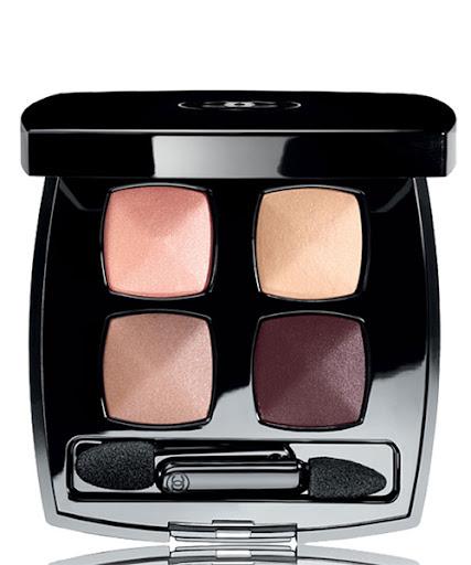 Chanel Les 4 Ombres палитра сенки за очи 4 цвята