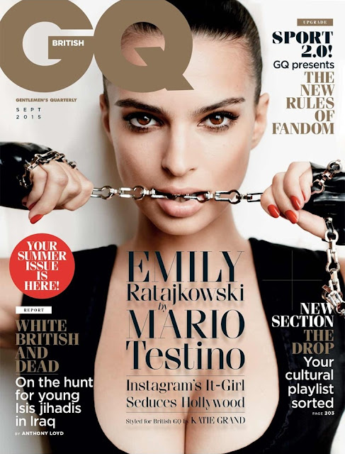 Actress, Model @ Emily Ratajkowski - GQ UK, September 2015