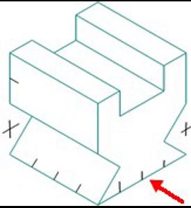 Figura 30: Sistema diédrico - obtención de vistas