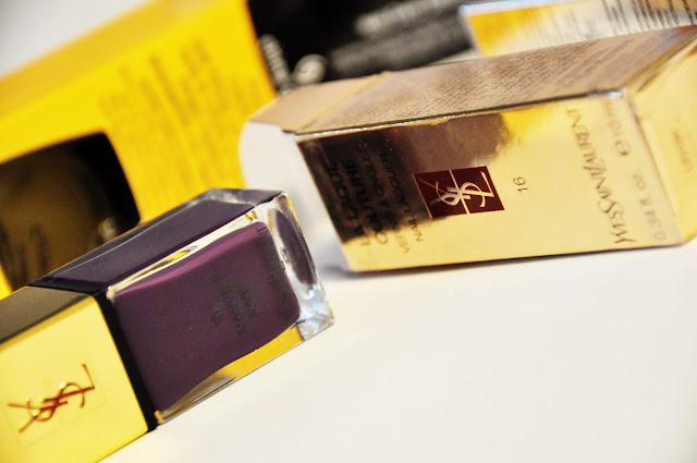 YSL фиолетовый лак 16