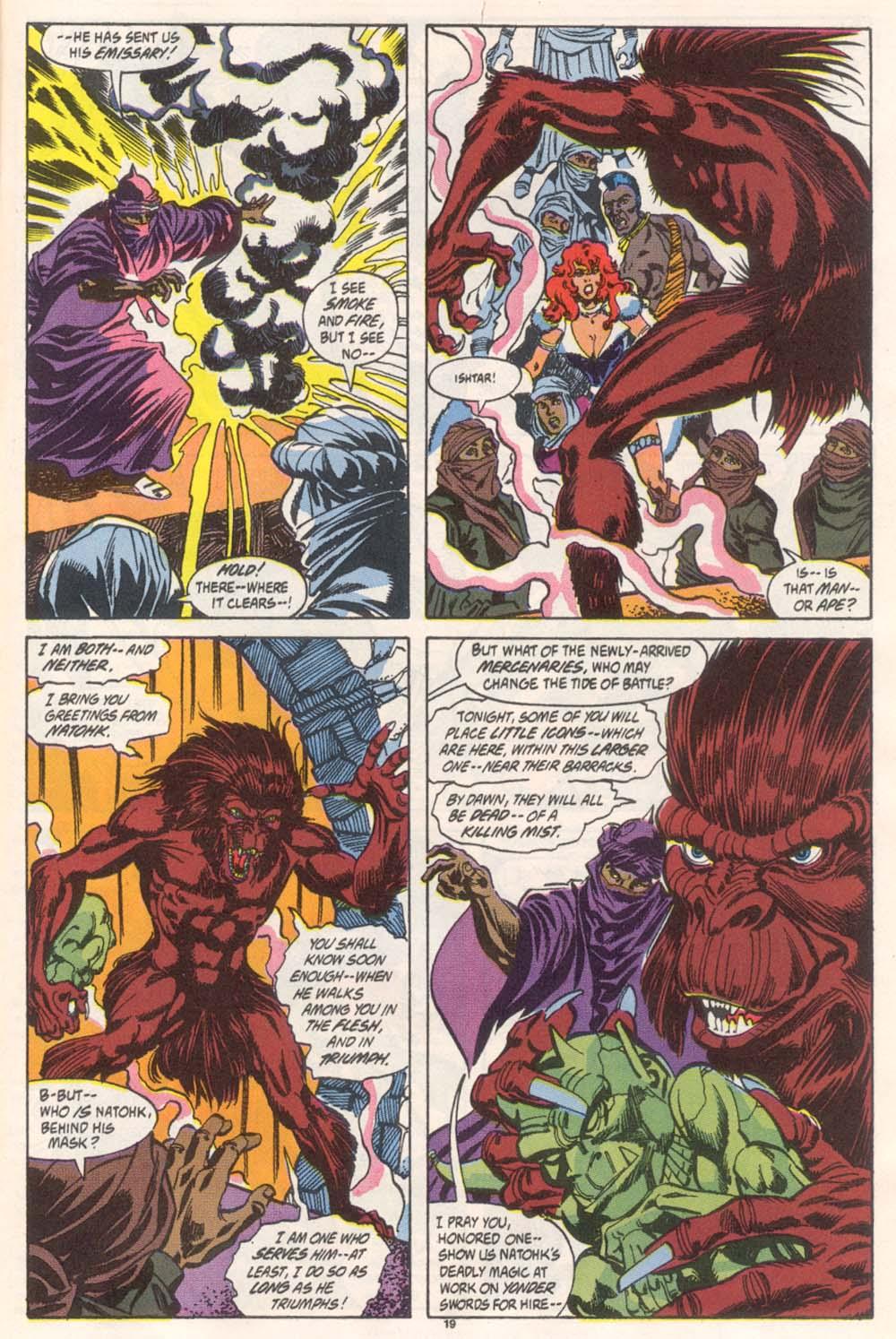 Conan the Barbarian (1970) Issue #246 #258 - English 16