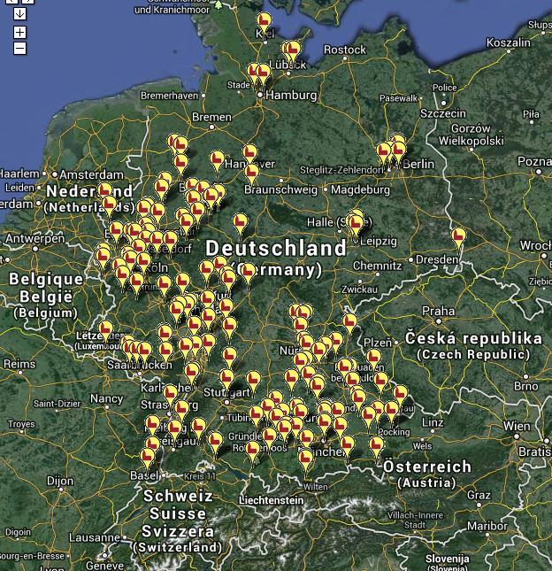 Die alte Messe in Mitteleuropa (Zum öffnen klicken!)