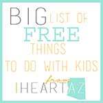 FREE things to do with Kids in AZ
