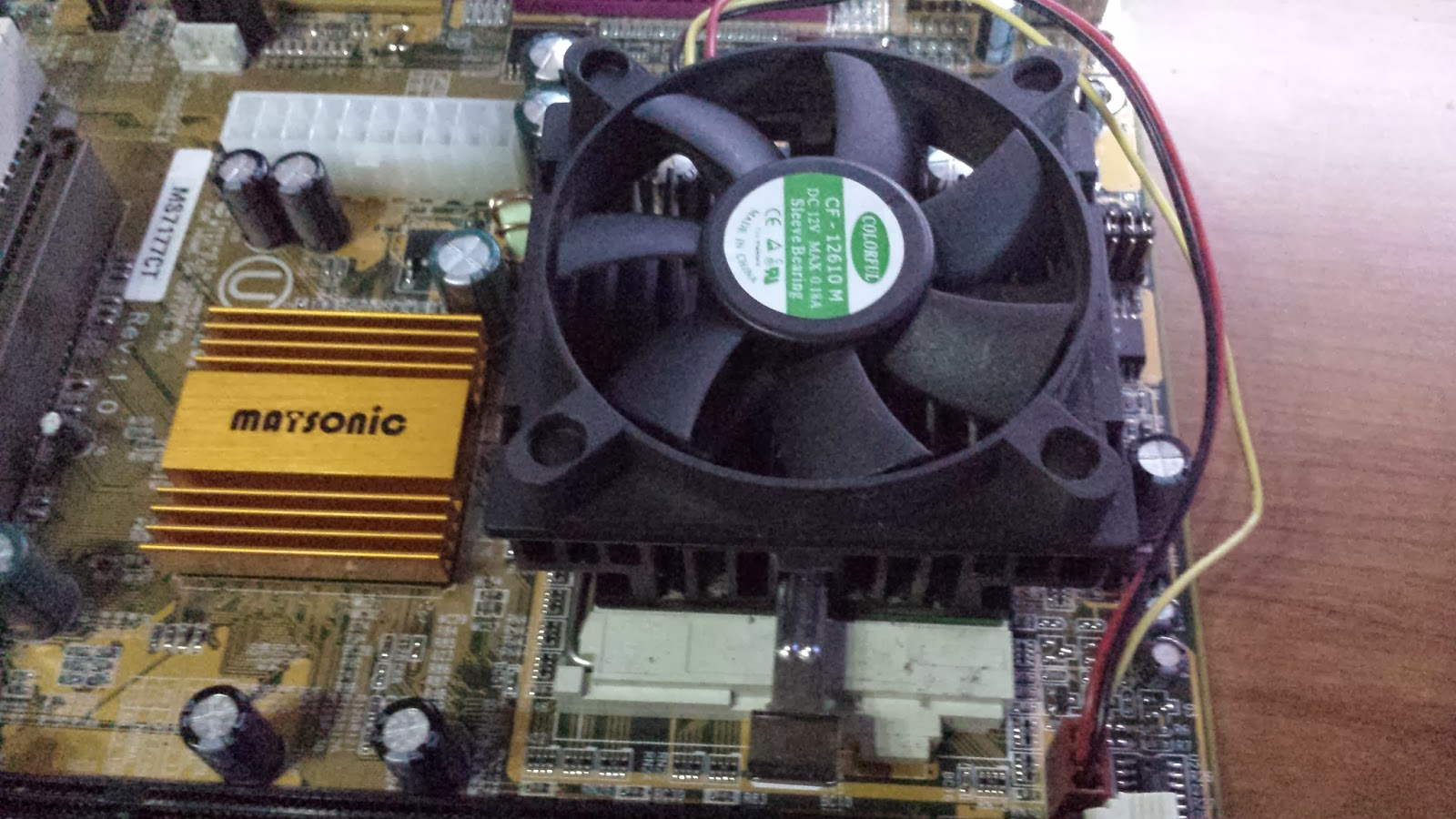 Disipador Pentium III