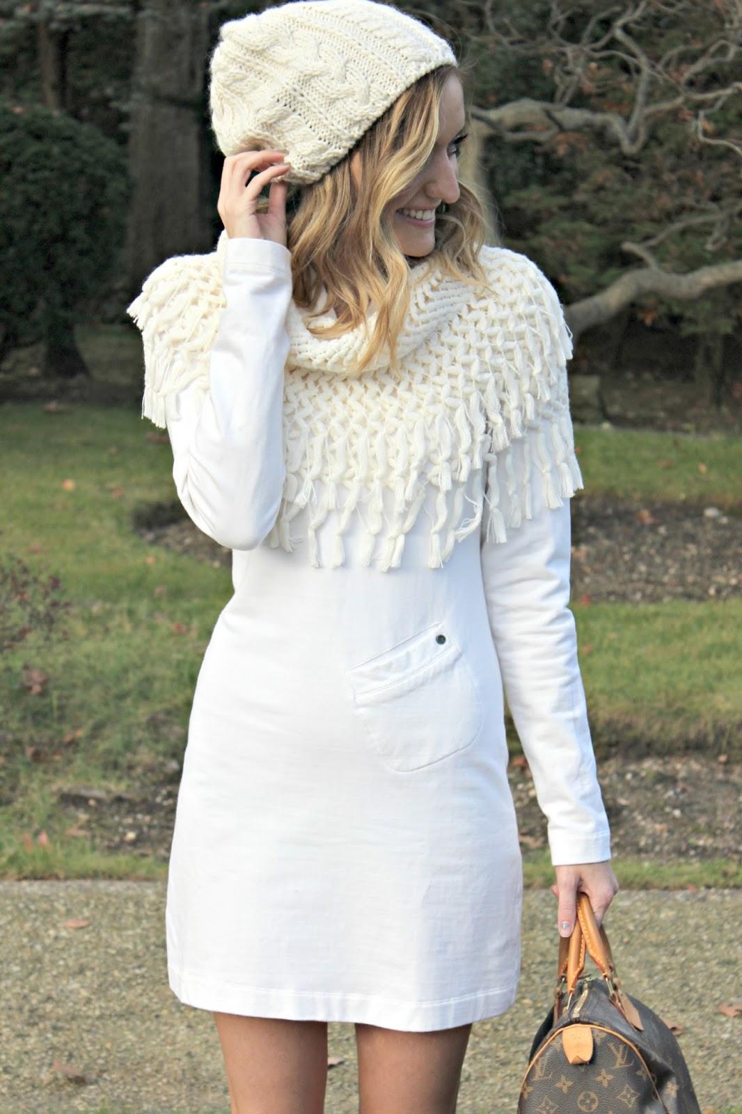 white dress via zappos