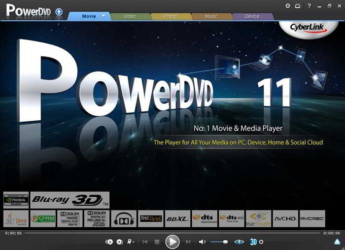 Cyberlink powerdvd 9 deluxe clean blaze69