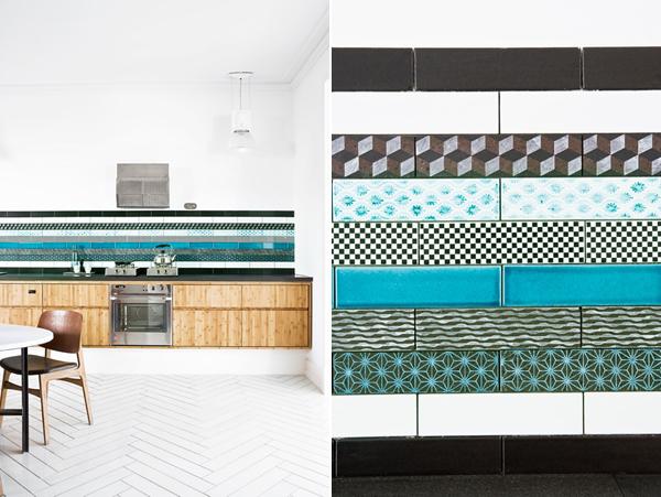 Dise o de cocinas con azulejos cer micos cocinas modernass for Azulejos ceramicos