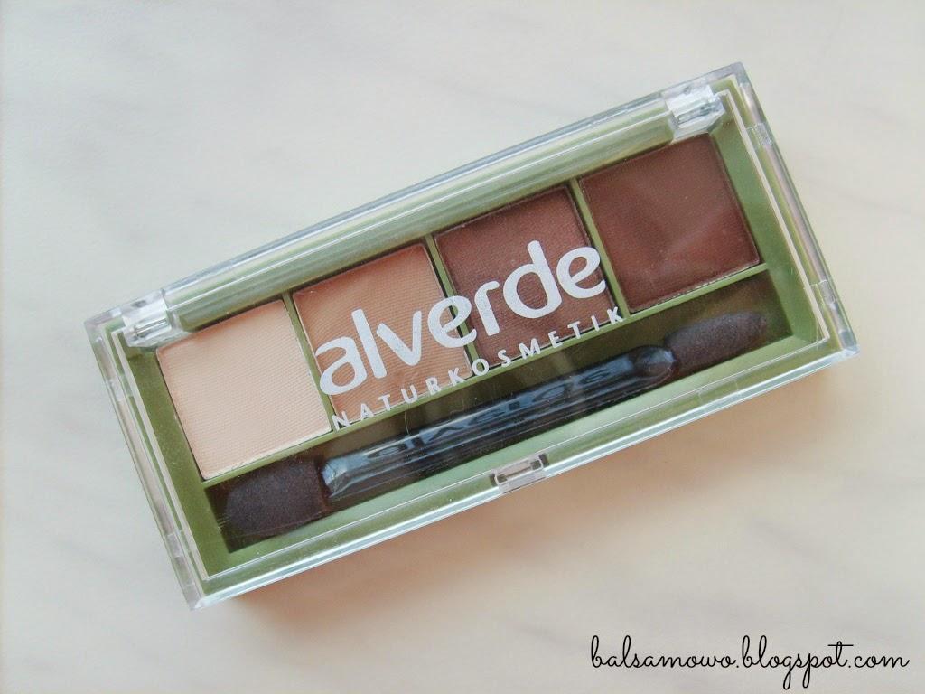 Alverde: Poczwórne cienie do powiek