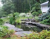 taman rumah cantik