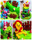 Cake Winnie the Pooh and friends