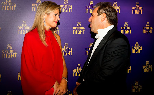 Queen Maxima at opening season of the Royal Concertgebouw Orchestra