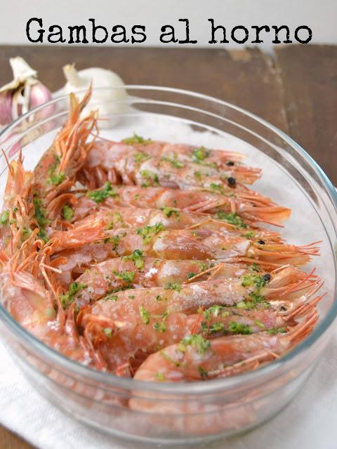 gambas al horno con ajo y perejil cuuking recetas de cocina