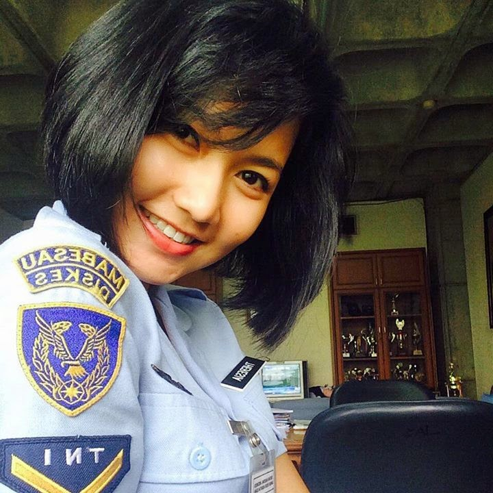 Foto Theresia Mariana Susanti - Indonesia Air Force Wanita
