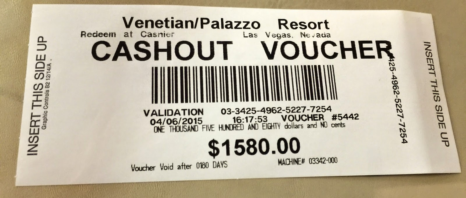 Casino cash out orleans casino las vegas sazio