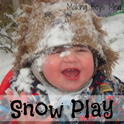 snow play