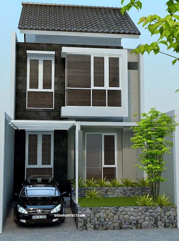 Desain Rumah Minimalis 2 Lantai Mungil
