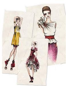 Bocetos de moda