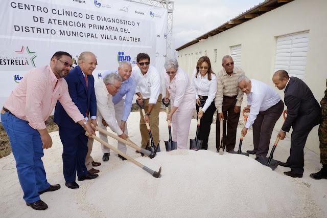 Fundación Estrella se alía con Salud Pública para crear centro médico en Villa Gautier