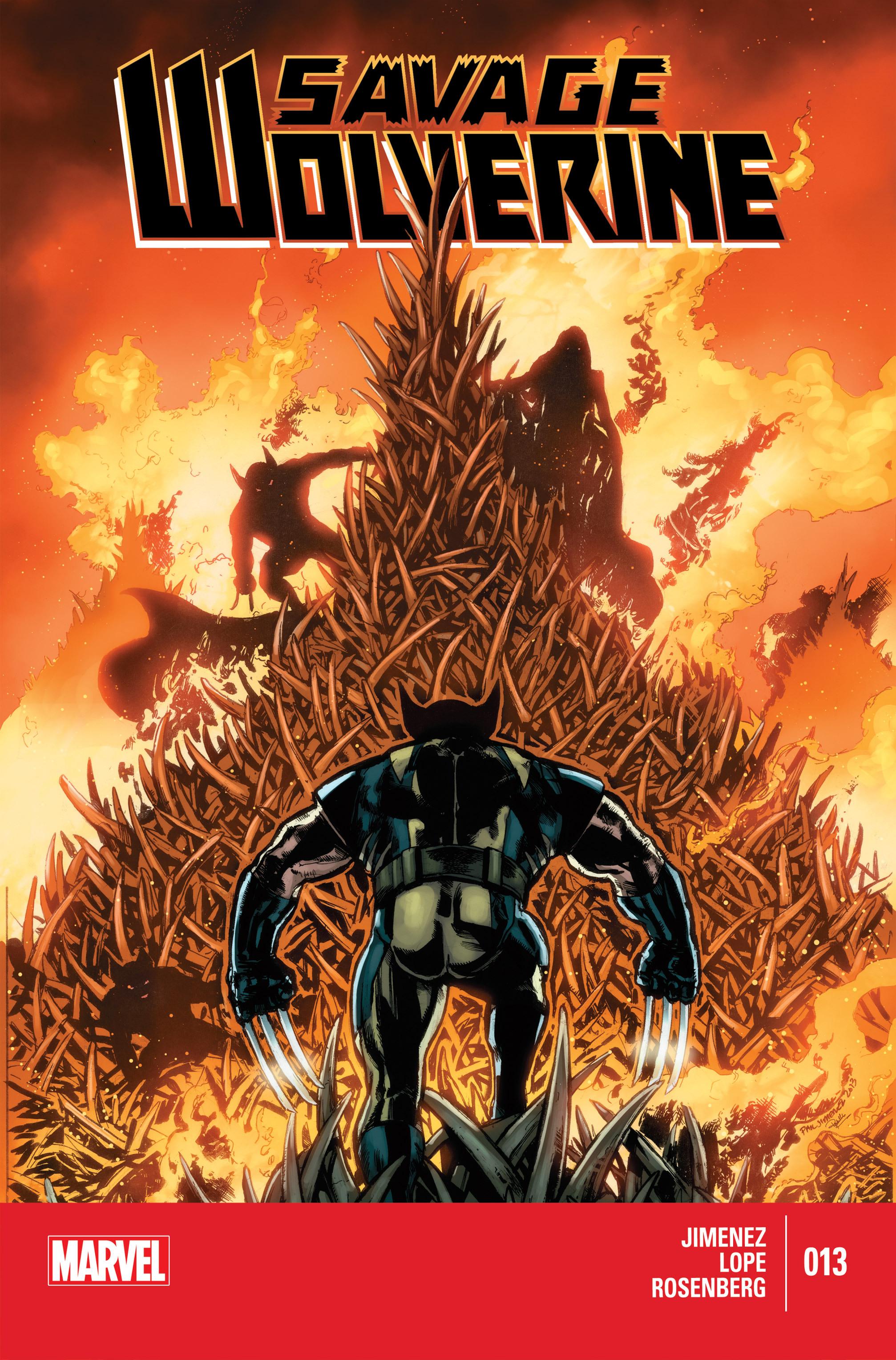 Savage Wolverine 13 Page 1