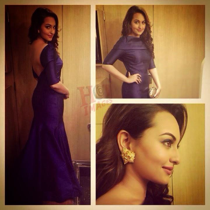 sexy sonakshi sinha back