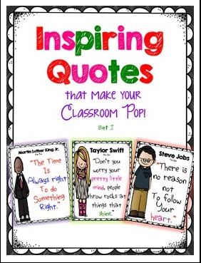 http://www.teacherspayteachers.com/Product/Inspiring-Quotes-for-your-Classroom-Decor-1070898
