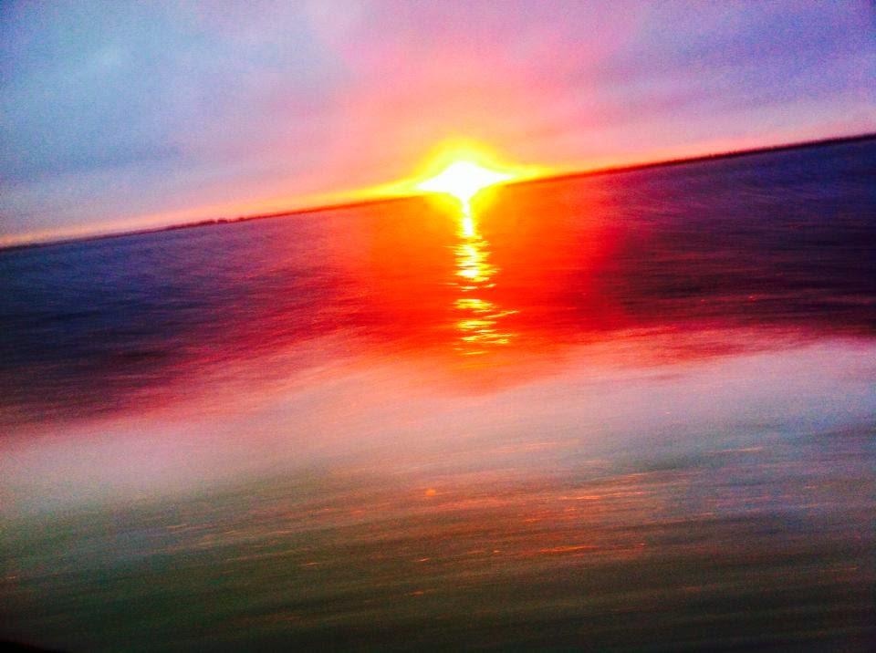 Nascer do Sol na Praia do Cassino
