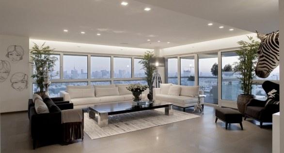 Veamos fotos de este hermoso diseño de apartamento contemporáneo, un ...