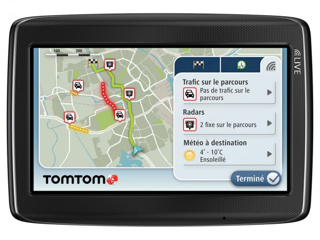 voiture communicante sortie de la version 6 de tomtom hd traffic. Black Bedroom Furniture Sets. Home Design Ideas
